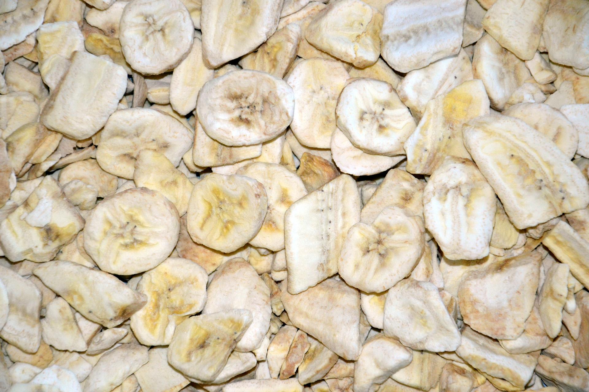 banán liofilizált